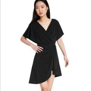 Cushnie for Target black flutter sleeve dress NWT